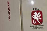 N23E @ 3W5 - Tail of 1938 Fairchild 24 G, c/n: 2926