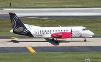N341AG @ TPA - Silver Saab 340