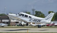 C-GEZK @ KOSH - Departing Airventure 2012 - by Todd Royer
