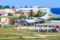 N12BU @ TNCM - landing at SXM - by martial Dekker