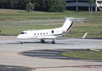 N422TK @ TPA - Gulfstream III