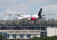 N445XJ @ TPA - Silver Airways Saab 340