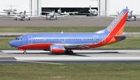 N501SW @ TPA - Southwest 737-500