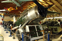 C-GBXL @ CYNJ - 1941 Westland Lysander, c/n: 1194 at Langley BC Museum - by Terry Fletcher