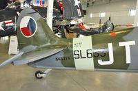 N633VS @ PAE - Tail of 1945 Vickers-armstrong Ltd SPITFIRE IX, c/n: CBAF IX.571