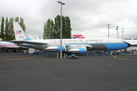 58-6970 @ BFI - 1958 Boeing VC-137A-BN, c/n: 17925 at Seattle Museum of Flight - by Terry Fletcher