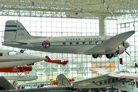 N138D @ BFI - 1940 Douglas DC3C-S1C3G, c/n: 2245 ex USAF 43-2244 in Seattle Museum of Flight