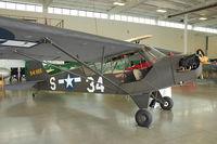 N68935 @ PAE - 1944 Piper J3C-65, c/n: 13695