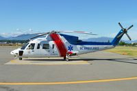 C-GCHJ @ CYVR - 1998 Sikorsky S-76C, c/n: 760496