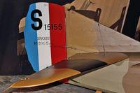 N3883F @ BFI - Tail of Windward Aviation SPAD XIII, c/n: CFM003