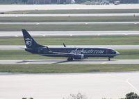 N548AS @ MCO - Alaska reverse scheme 737-800