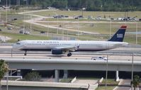 N554UW @ MCO - US Airways A321
