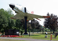 66-0286 - This Phantom is on display in the main section along the northern edge of Veterans Park, Hamilton, NJ. - by Daniel L. Berek