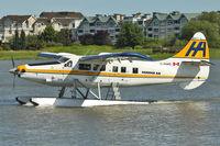 C-FHAD @ CYVR - 1956 De Havilland Canada DHC-3, c/n: 119 ex USAF 55-3273