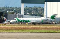 C-GKEZ @ CYVR - 1999 Bombardier CL-600-2B19, c/n: 7327 - by Terry Fletcher