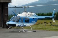 N6181A @ 1S2 - 1993 Bell 206B, c/n: 4277 at Darrington WA