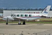 C-GPAP @ CYVR - 1981 Piper PA-31-350, c/n: 31-8152005 - by Terry Fletcher