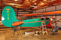 N13167 @ 3W5 - Restoration of 1943 De Havilland DH-84 Dragon, c/n: 2048 nearly complete - by Terry Fletcher