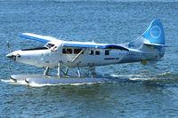C-GHAS @ CYHC - Dehavilland DHC-3, c/n: 284 ex USAF 57-6136