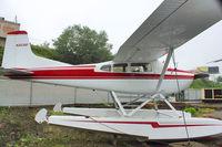 N253DF @ S60 - 1976 Cessna 180J, c/n: 18052686