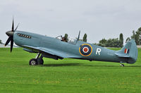G-MKXI @ EGBK - 1944 Supermarine 365 Spitfire PR.XI, c/n: 6S/504719 at 2012 Sywell Airshow