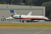 N528AP @ BFI - 2007 Gulfstream Aerospace GV-SP (G550), c/n: 5168 at BFI