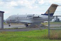 C-GNRC @ CYXX - Bombardier CL-600-2B16, c/n: 5417 - by Terry Fletcher