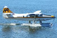 C-FHAA @ CYHC - 1960 De Havilland Canada DHC-3T Vazar Turbine Otter, c/n: 357 ex RCAF 9042 - by Terry Fletcher