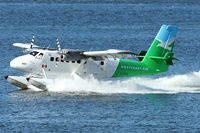 C-FWTE @ CYHC - 1968 De Havilland Canada DHC-6-100 Twin Otter, c/n: 96