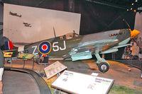 N521R @ BFI - 1943 Vickers SPITFIRE MARK IX, c/n: CBAF-1X-1886 in Seattle Museum of Flight