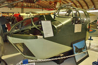 9896 @ CYNJ - Nose section of 9896 (RCAF 9896), Bristol 149 Bollingbroke MkIVT, at Langley BC