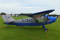 G-CBAS @ EGBK - at the LAA Rally 2012, Sywell - by Chris Hall