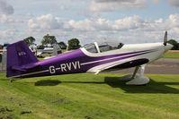 G-RVVI @ EGBR - Vans RV-6 at The Real Aeroplane Club's Wings & Wheels weekend, Breighton Airfield, September 2012 - by Malcolm Clarke