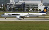 D-AEBQ @ EDDM - departure from Munich