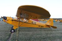 N27016 @ KOSH - Piper J3C-65 - by Mark Pasqualino