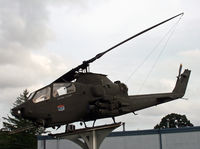 70-15986 - This Huey is on display at Veterans Park, Thomaston Ave., in the northwestern section of town. The park includes memorials and other Army vehicles. - by Daniel L. Berek