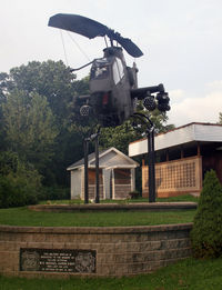 67-15809 - This Army attack helicopter is on display at VFW 8075, just south of Prospect, CT.  The display is dedicated to Michael Aaron Knight, who lost his life in Vietnam, in 1967. - by Daniel L. Berek