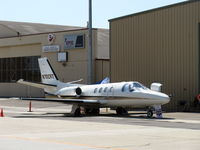 N702RT @ CMA - 1984 Cessna 501 CITATION I/SP Jet, two P&W JT15D-1A Turbofans, 2,200 lb thrust each. Certified for single pilot operation. - by Doug Robertson