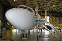 D-AEFL @ EDDR - D-AEFL inside of Contact Air maintenance facilities - by Thomas M. Spitzner