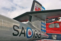18138 @ CYNJ - Tail of Avro Canada CF-100 Canuck Mk.3D, c/n: 038