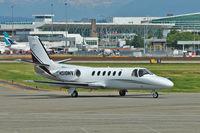 N518MV @ CYVR - 1981 Cessna 551, c/n: 551-0046 at Vancouver Int
