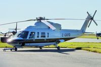 C-GNYO @ CYVR - 1999 Sikorsky S-76C, c/n: 760499 - by Terry Fletcher