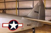 N54977 @ 3W5 - Tail of 1943 Fairchild M-62A, c/n: T43-5770