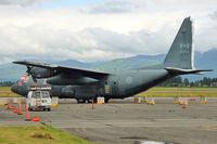 130306 @ CYXX - 130306 (CAF130306), Lockheed CC-130E Hercules, c/n: 382-4026 stored at Abbotsford - by Terry Fletcher