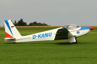 D-KANU @ EGBK - Schleicher ASK 16, c/n: 16023 at 2012 Sywell Airshow