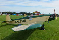 G-APBO @ EGBK - at the at the LAA Rally 2012, Sywell - by Chris Hall