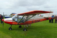 G-BUWK @ EGBK - at the at the LAA Rally 2012, Sywell - by Chris Hall