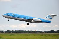 PH-KZG @ EHAM - KLM Fokker - by Jan Lefers