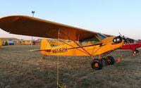 N6562H @ KOSH - Piper J3C-65 - by Mark Pasqualino