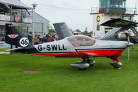G-SWLL @ EGBK - at the at the LAA Rally 2012, Sywell - by Chris Hall
